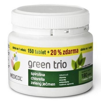 Green trio