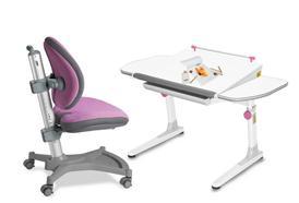 Dětské rostoucí židle a stoly naučí děti správnému sezení