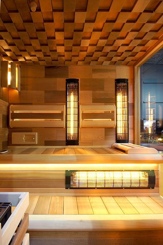 Krásné, moderní sauny