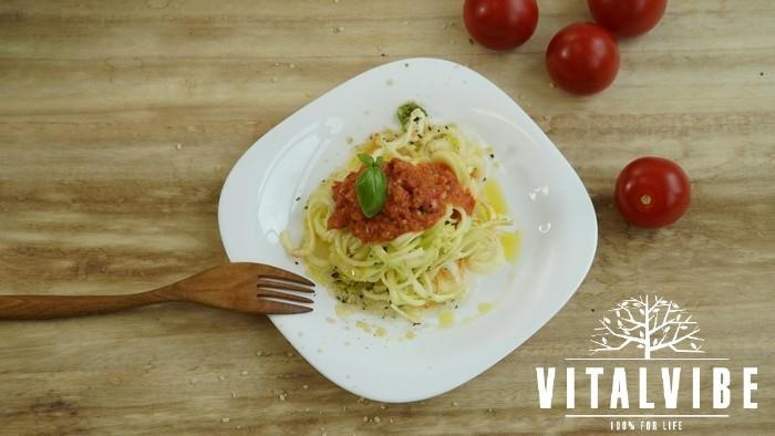 Skvělé cuketové špagety