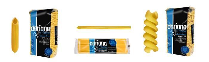Bezlepkové těstoviny Adriana