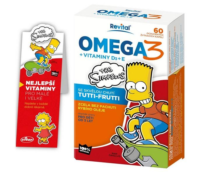 Multivitaminy s omega 3