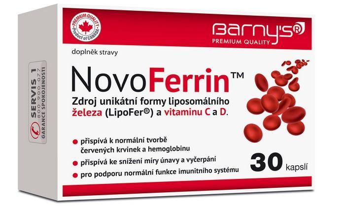Doplněk stravy NovoFerrin