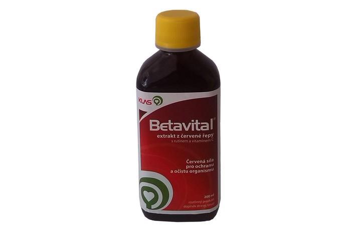 Exkrakt z červené řepy Betavital