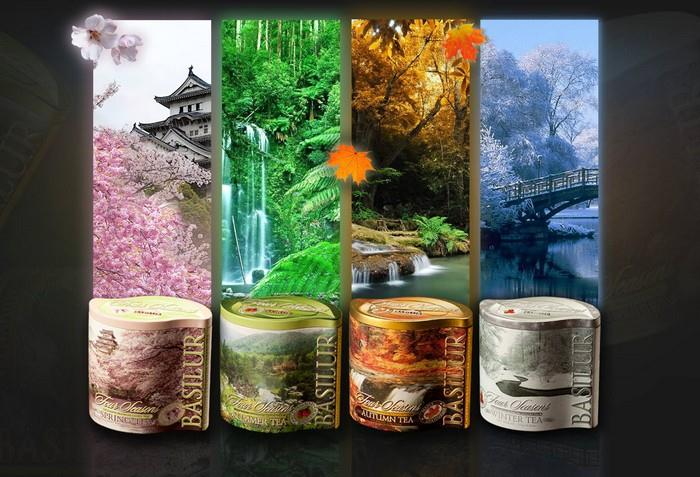 Čaje z kolekce Four Seasons