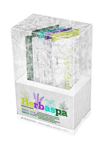 Mix všech bylinných koupelý Herbaspa v jediném balení