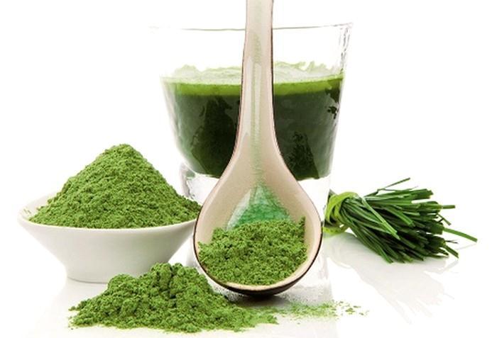 Zelené potraviny prospívají našemu tělu