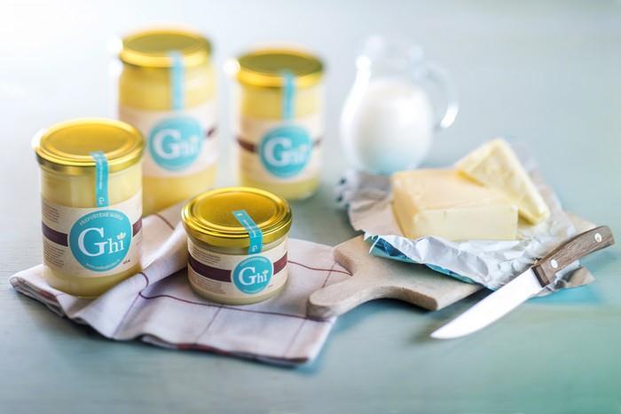 Intenzivní chuť másla v Ghí