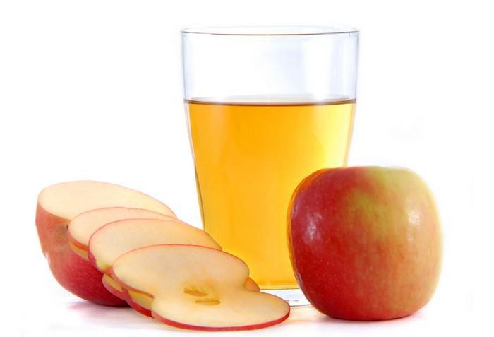 Recept na domácí jablečnou šťávu