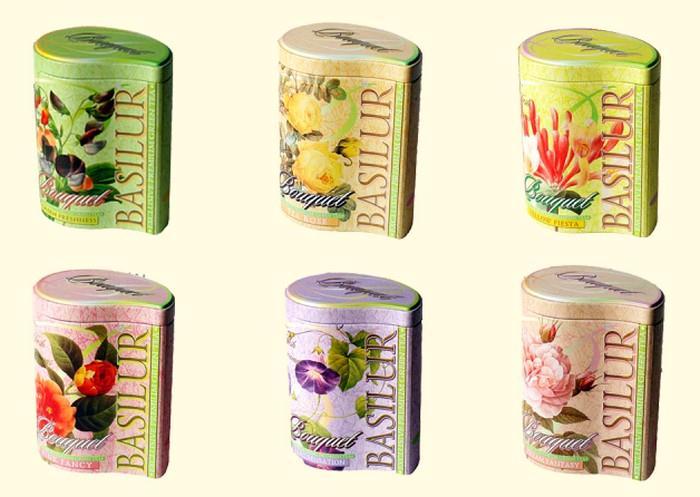Čajová paleta Basilur