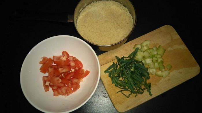 Ingredience na Kuskus