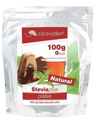 Přírodní sladidlo Stevia plus v prášku