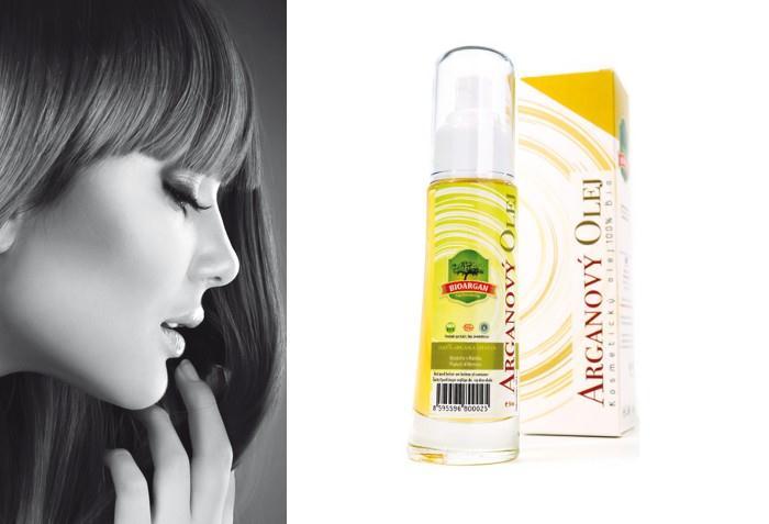 Omlazující kosmetika z arganového oleje