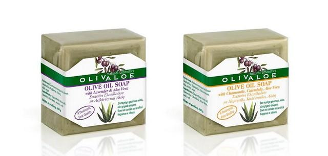 Přírodní olivová mýdla
