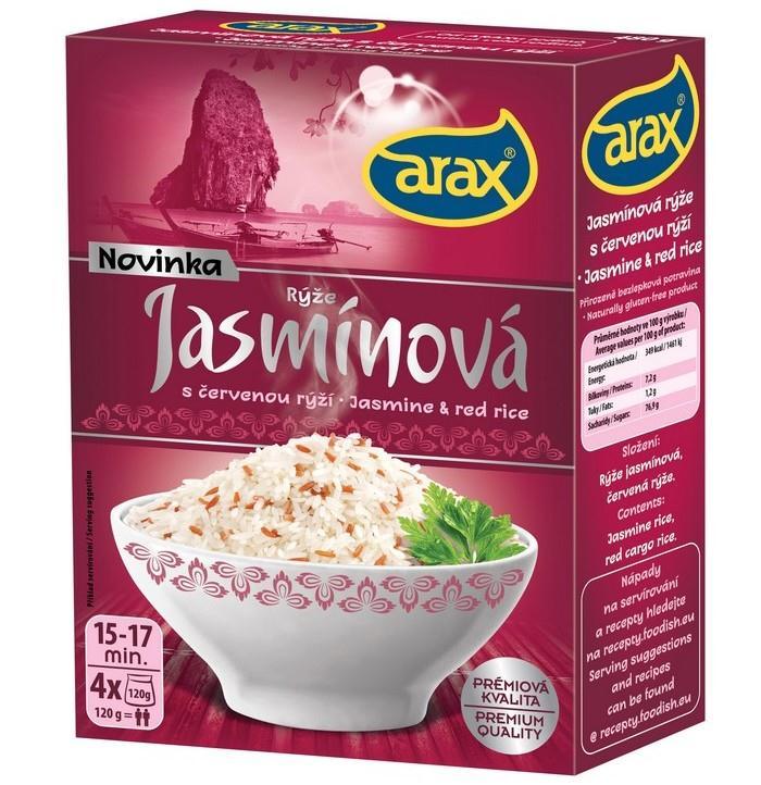 Jasmínová s červenou rýží